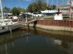 Low Lake Huron Evident in Caseville Harbor
