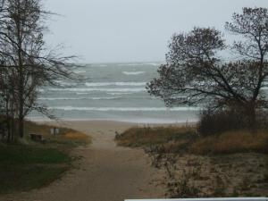 TS Sandy Hits Huron County
