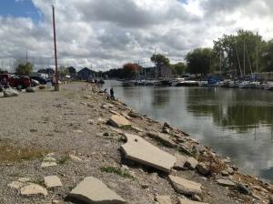 Low Water in Caseville