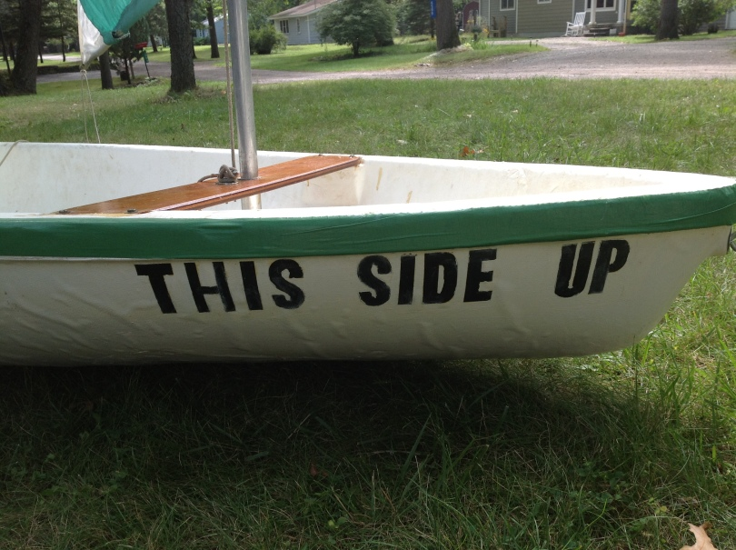 This side up - Kool Sailboat