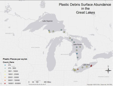 microplastics great lakes