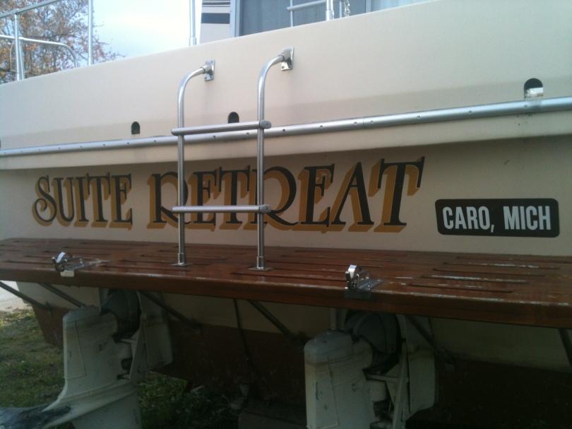 Caseville Transom name Suite Retreat