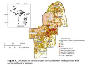 Michigan's Arsenic Problem is One of the Worst in the Nation. The Thumb Area is the worst in the State.