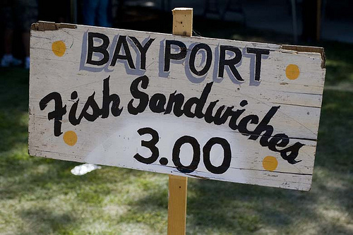 Bay Port Fish Sandwich