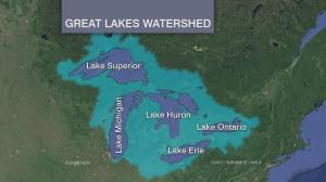 great lakes watershed