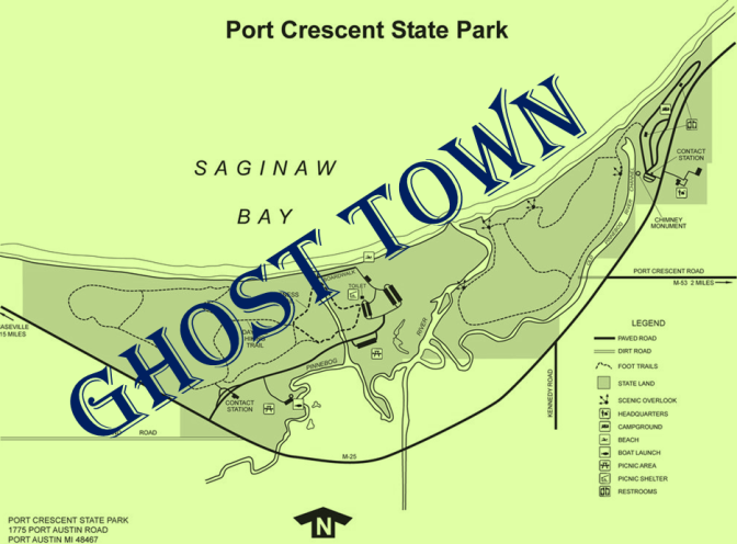 Port Crescent – A Ghost Town in the Thumb