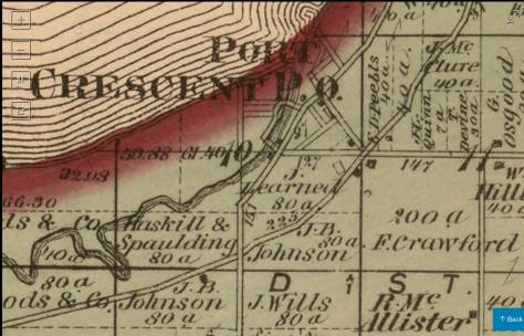 Port Crescent Plat Map