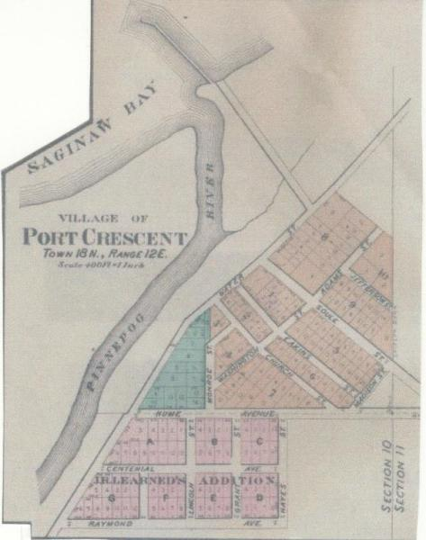 Port-Crescent-Village-Plat-Map-1870s