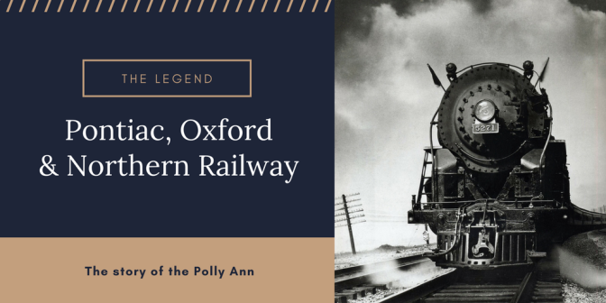 Polly Ann Railway Title Page