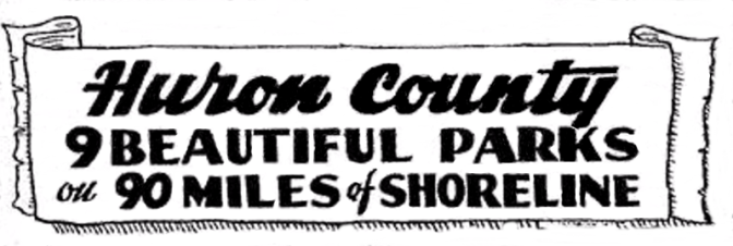 1940 Huron County Scenic Travel