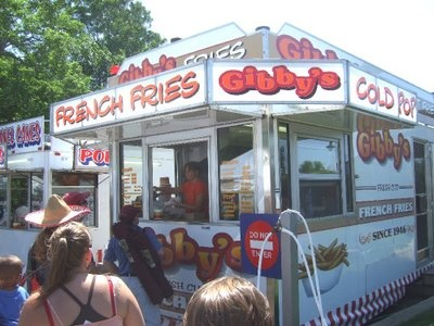 Huron County Fair Gibbys Fries