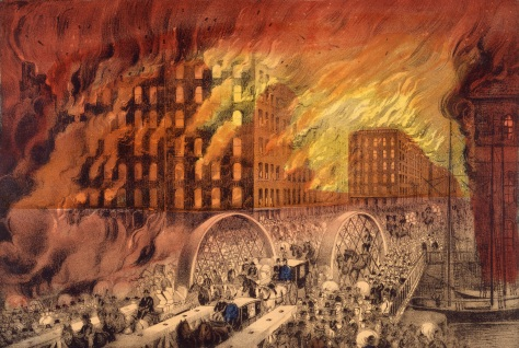 Chicago in Flames