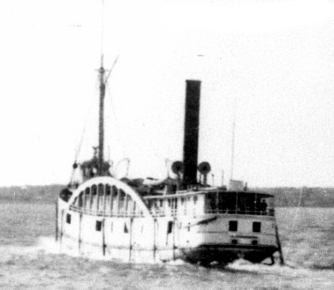 Steamer SS Comet Great Lakes